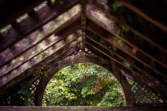 Toit d'abri en réserve naturelle de Shaw photographie stock libre de droits