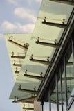 Toit d'un immeuble de bureaux Photographie stock libre de droits