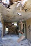 Toit dans Beelitz-Heilstätten image libre de droits