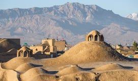 Toit de bazar de Kashan, Iran photos stock