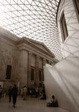 Toit de ciel au musée britannique Image stock