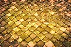 Toit de Clay Roof-Tile cuit au four Photographie stock libre de droits