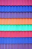 Toit de couleur Photos libres de droits