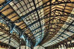 Toit de gare ferroviaire de Brighton photographie stock