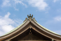 Toit de style japonais Images stock