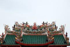 Toit de temple Image libre de droits