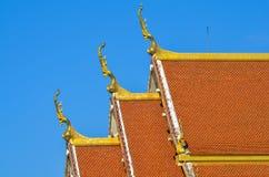 Toit de temple Photo stock