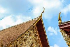 Toit de temple Photographie stock