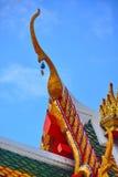 Toit de temple Photo libre de droits