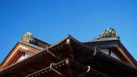 Toit de temple Images stock