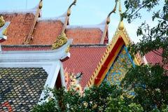 Toit de temple comme fond photographie stock libre de droits