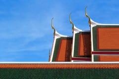 Toit de temple de ciel Photos libres de droits
