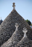 Toit de Trullo photo stock