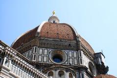 Toit du dôme à Florence Images libres de droits