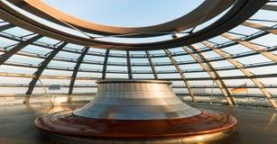 Toit du Reichstag photo libre de droits