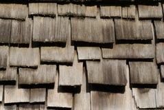 Toit en bois Image stock
