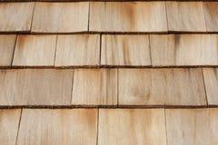 Toit en bois Photos libres de droits