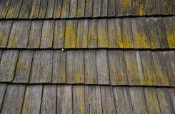 Toit en bois Image libre de droits