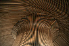 Toit en bois Photographie stock libre de droits