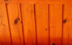 Toit en bois verni Image stock