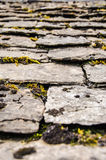 Toit en pierre, Bibury, Angleterre Images stock