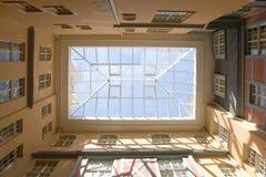 toit en verre image libre de droits
