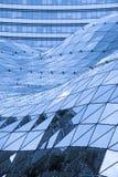 Toit en verre dans la construction moderne Image stock