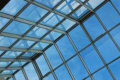 Toit en verre dans le bâtiment Photos stock