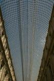 Toit en verre de St Hubert Royal Galleries à Bruxelles Image libre de droits