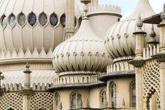 Toit fleuri de dôme de pavillions de Brighton images libres de droits