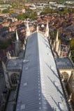 Toit à l'abbaye de York (cathédrale) Photos stock