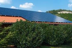 Toit solaire Images stock