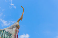 Toit thaï de temple Image stock