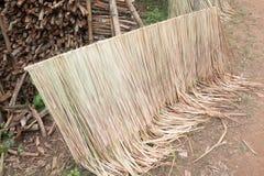 Toit tropical de chaume Image stock