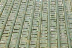 Toit vert Image libre de droits