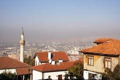 Toits d'Ankara Photo libre de droits