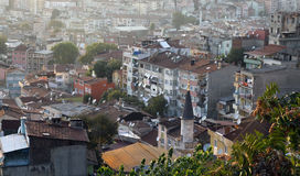 Toits d'Istanbul. photos libres de droits