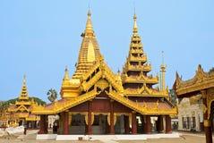 Toits dans Bagan images libres de droits