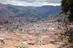 Toits de Cuzco Photographie stock libre de droits