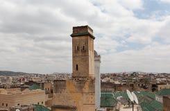 Toits de Fez. Le Maroc. Images libres de droits