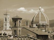 Toits de Florence Image stock