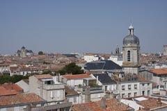 Toits de La Rochelle Photo stock