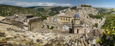 Toits de la Sicile Images stock