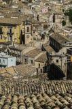 Toits de la Sicile Image stock