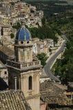 Toits de la Sicile Photos libres de droits