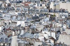 Toits de Paris Photo stock