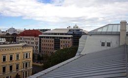 Toits de Riga photographie stock libre de droits