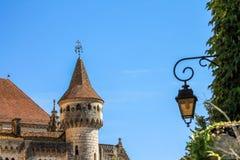 Toits de Rocamadour Image libre de droits