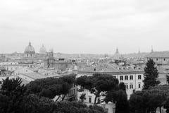 Toits de Rome Photographie stock