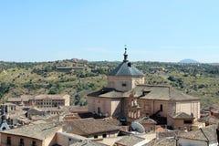 Toits de Toledo, Espagne Photos libres de droits